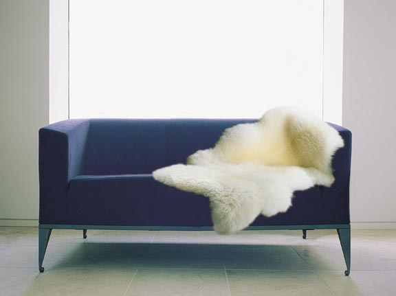 Luxury BOWRON Natural Sheepskin 1.5 SIZE Rug
