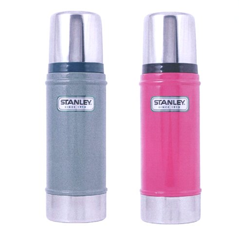 The STANLEY ALADDIN 500ml DRINK FLASK in Range of PASTEL Colours