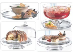 The 4 IN 1 QUALITY DOMED CAKE DISH By ANCHOR
