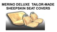 CUSTOM MADE SHEEPSKIN SEATCOVERS