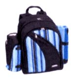 4 PERSN BACKPACK PICNIC SET:$105
